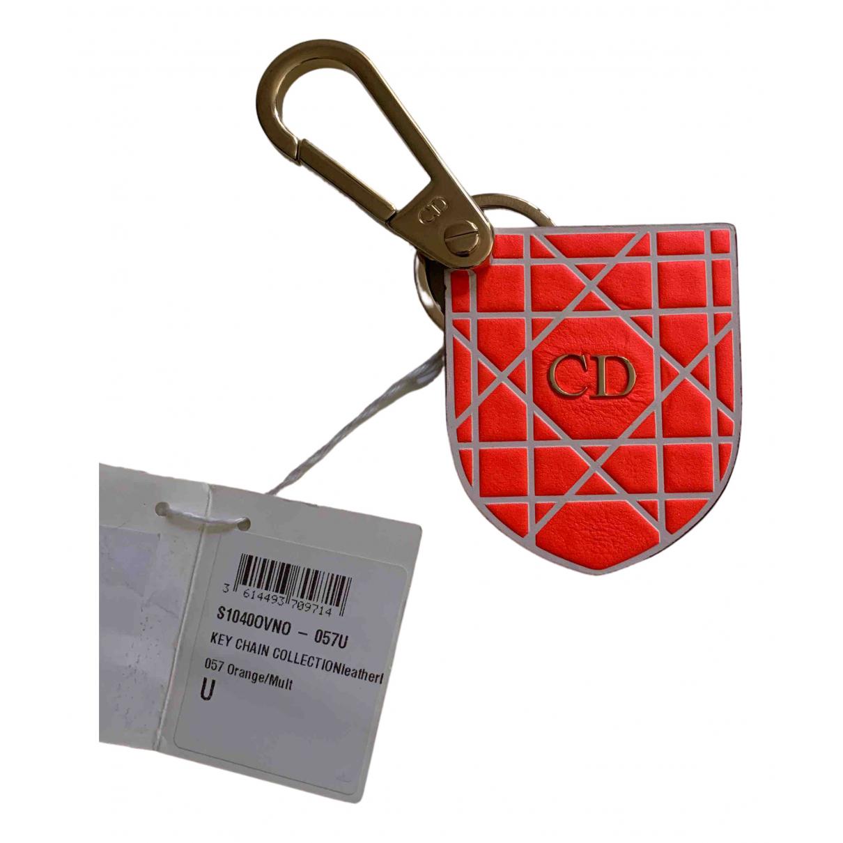 Dior \N Taschenschmuck in  Orange Leder