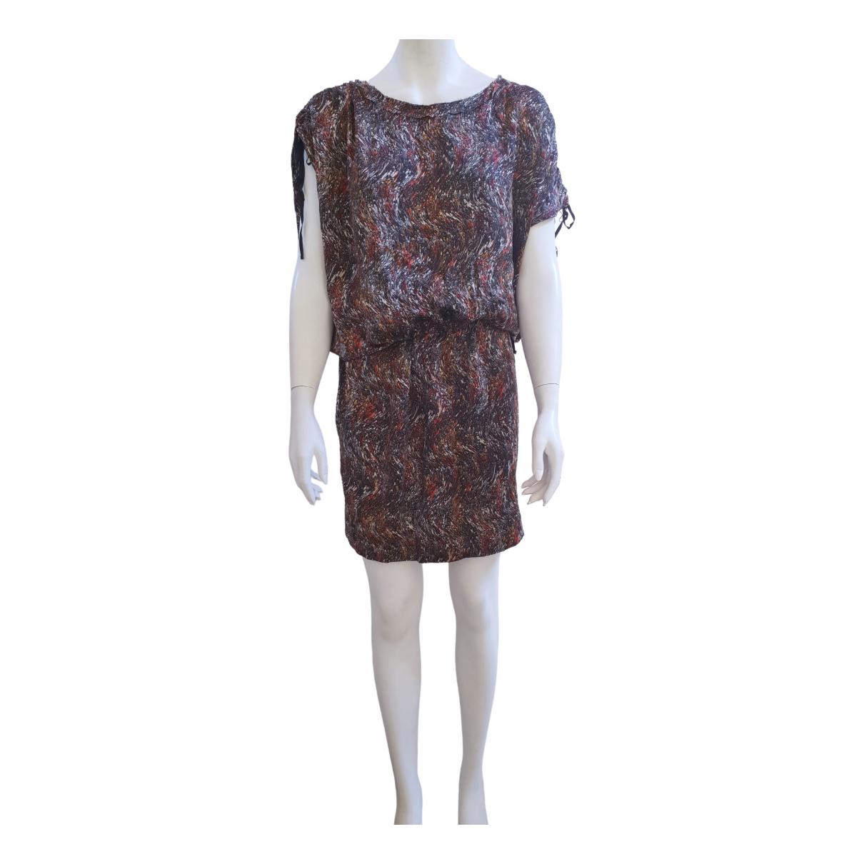 Isabel Marant Etoile \N Multicolour Silk dress for Women 1 0-5