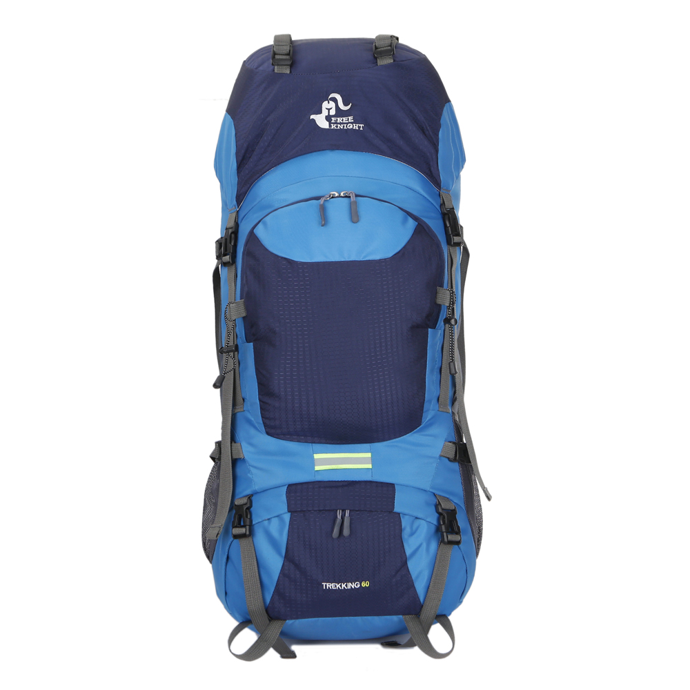 60L Waterproof Breathable Ergonomic Design High Capacity Colorful Backpack