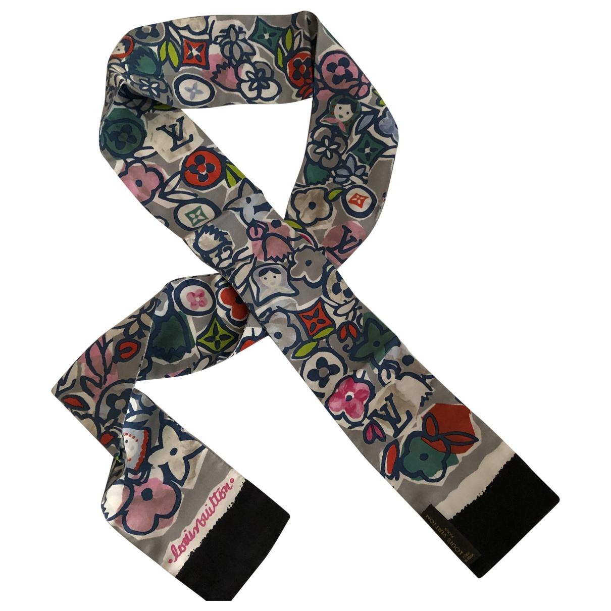 Louis Vuitton - Carre   pour femme en soie - multicolore