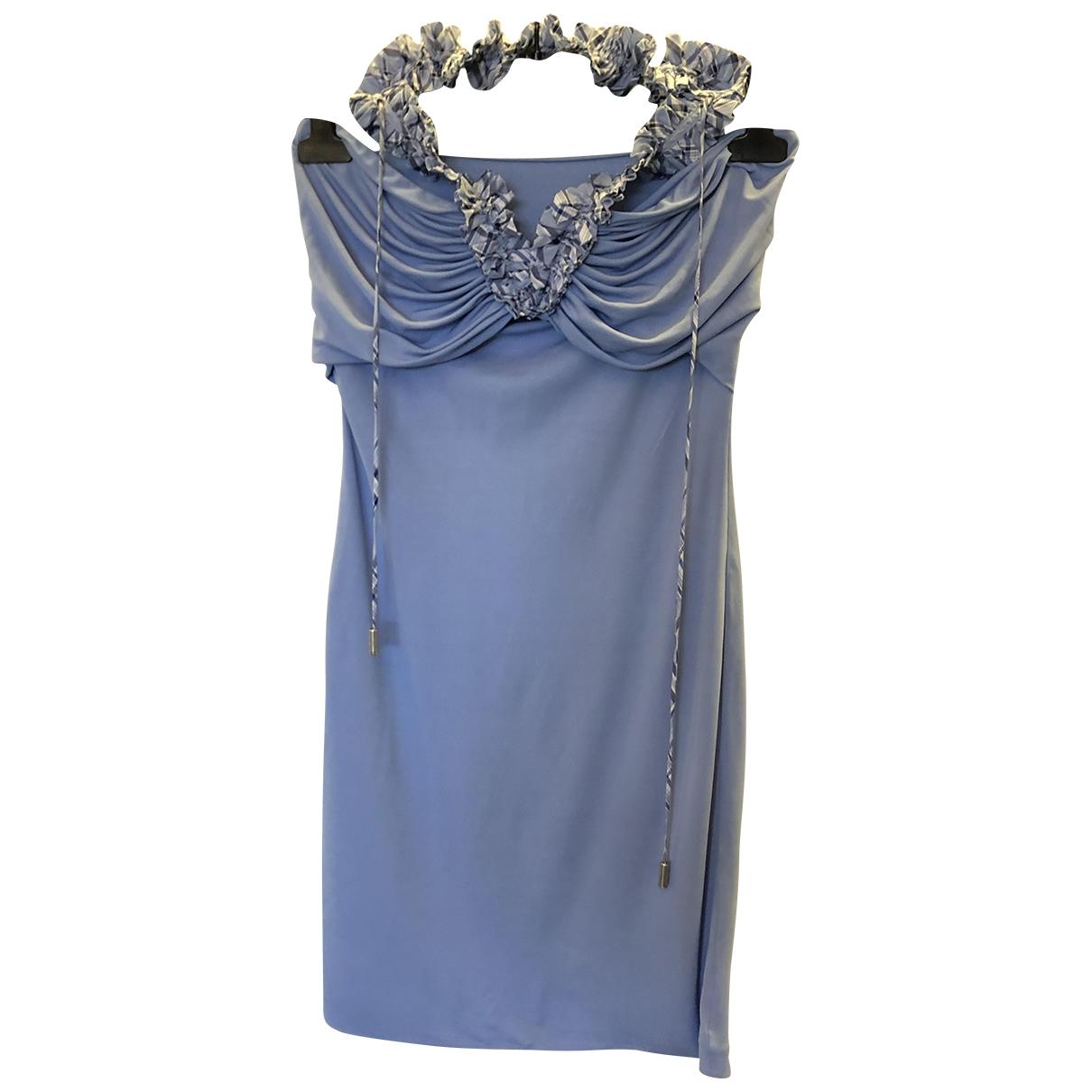 Dsquared2 \N Kleid in  Blau Viskose