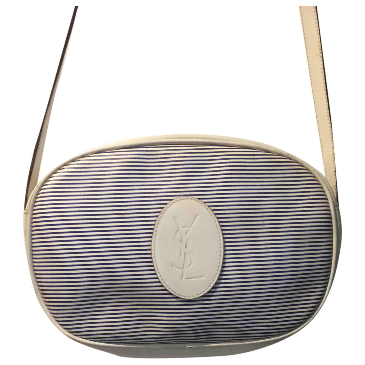 Yves Saint Laurent \N White Leather Clutch bag for Women \N