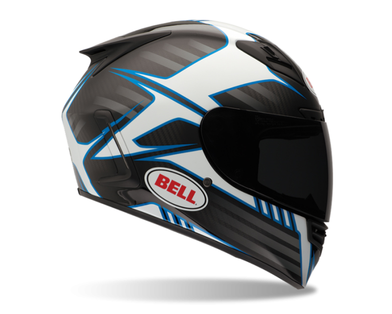 Bell Racing 7047559 Star Carbon Pinned Blue Helmet 62-62 | 2XL