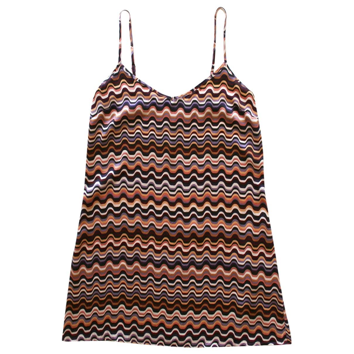 Mini vestido de Seda Missoni