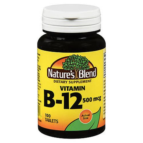 Natures Blend Vitamin B12 Tablets 100 Tabs by Natures Blend