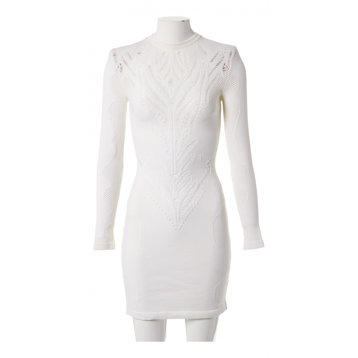 Balmain N Ecru dress for Women 36 FR