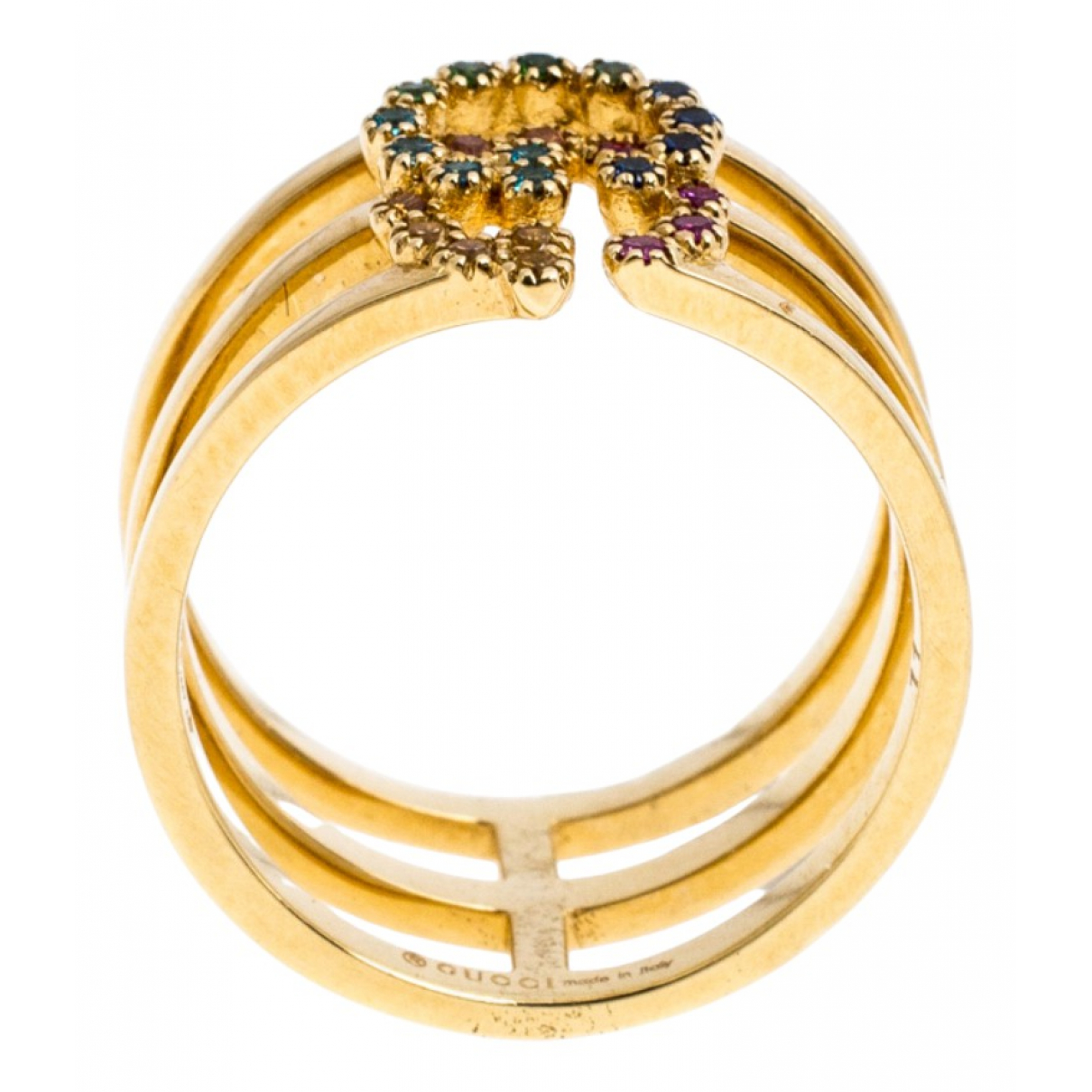 Gucci \N Gold Yellow gold ring for Women 5 ¼ US