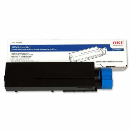 Okidata 44917601 Type B2 Original Black Toner Cartridge