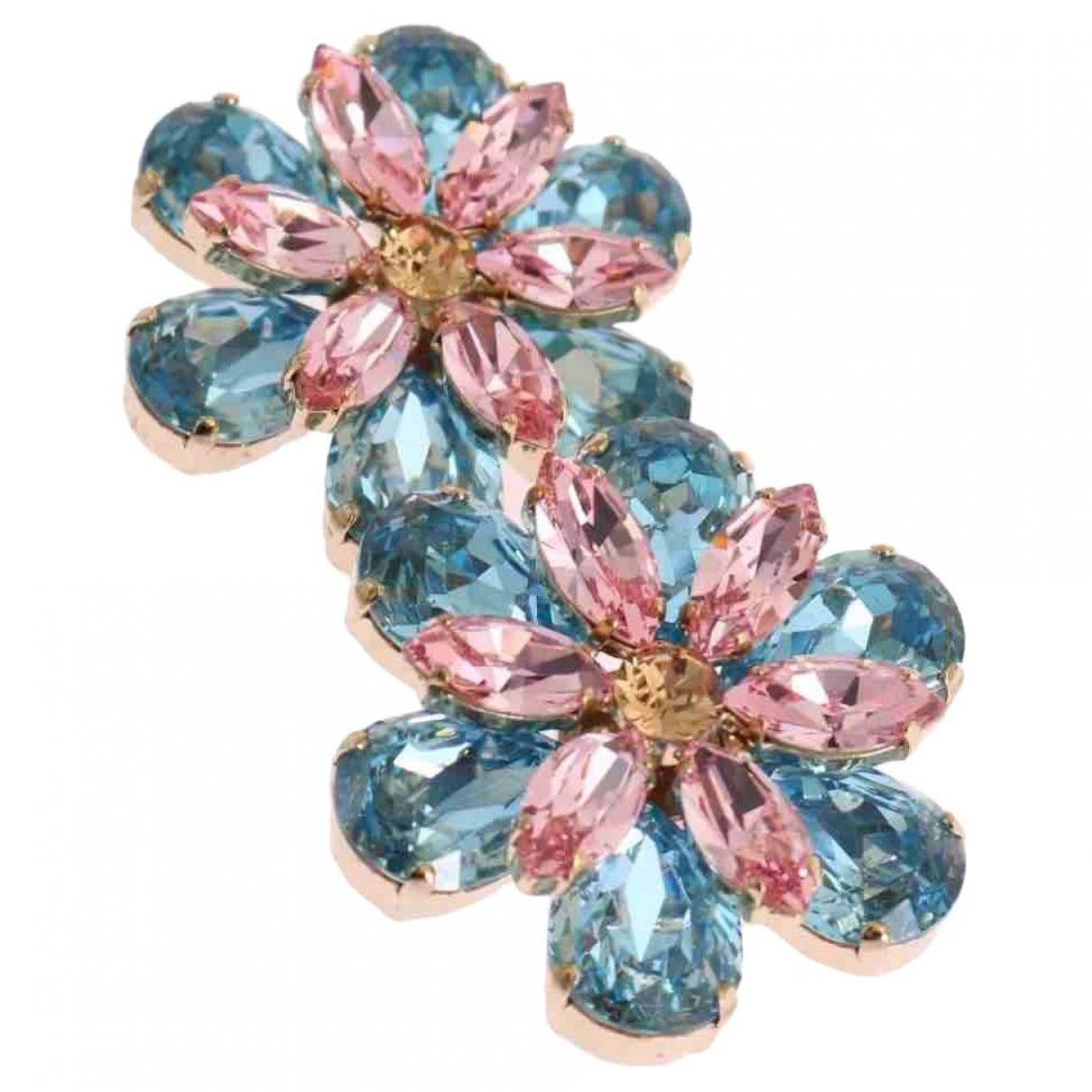 Dolce & Gabbana \N OhrRing in  Bunt Kristall