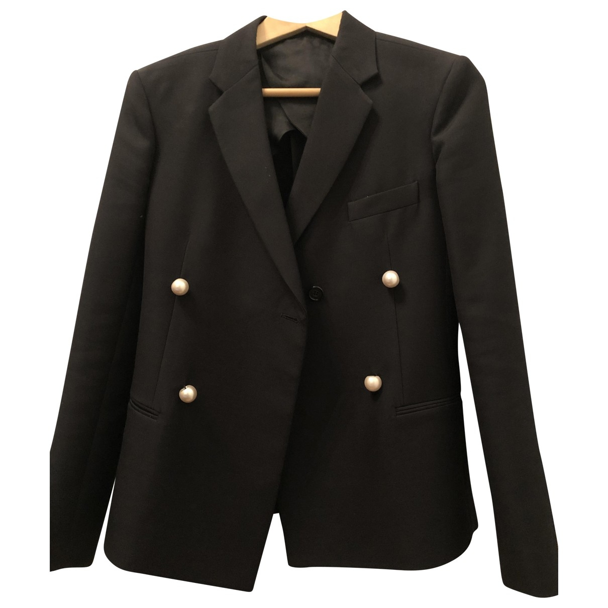 Celine \N Black jacket for Women 36 FR