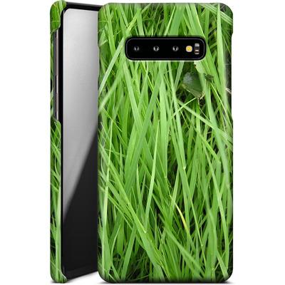 Samsung Galaxy S10 Plus Smartphone Huelle - Grass von caseable Designs
