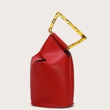 Minimalist Bucket Bag