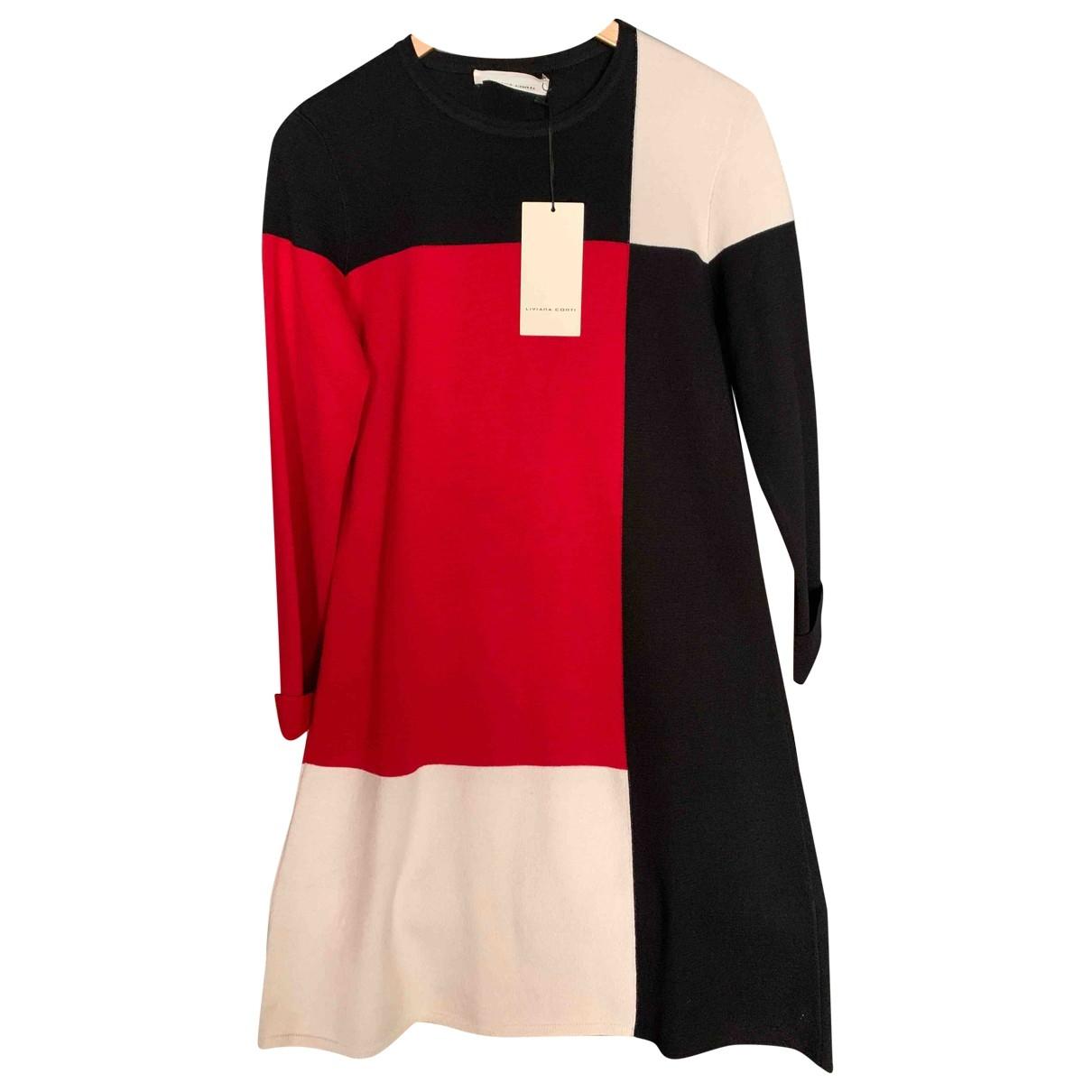 Mini vestido de Lana Liviana Conti