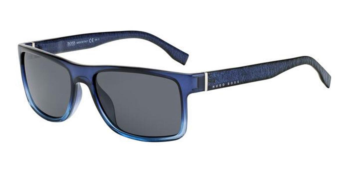 Boss by Hugo Boss Boss 0919/S PJP/IR Men's Sunglasses Blue Size 57
