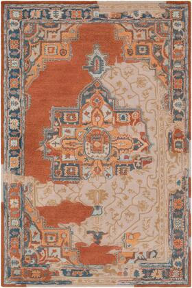 Hannon Hill HNO-1003 2' x 3' Rectangle Traditional Rug in