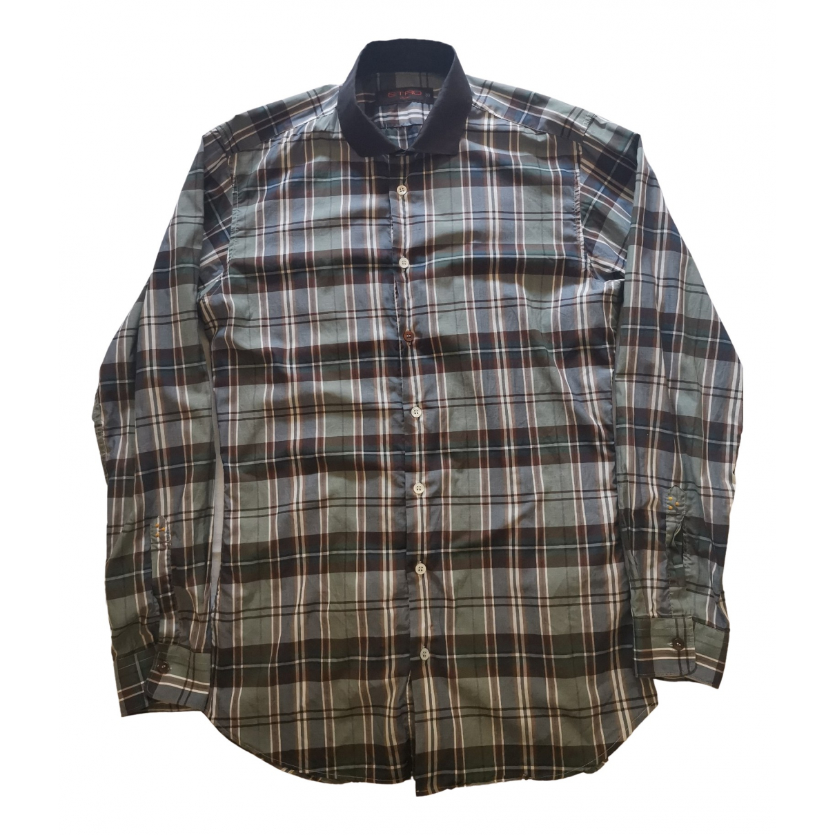 Etro - Chemises   pour homme en coton - marron