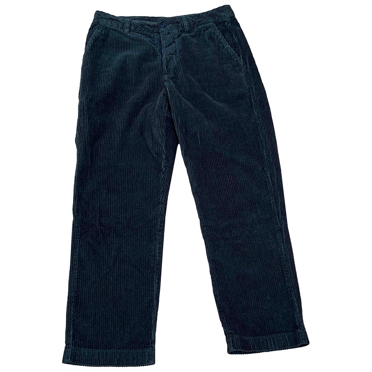 Pantalon recto de Terciopelo Woolrich