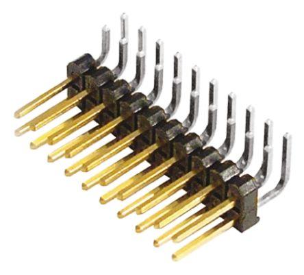 Samtec , TSW, 20 Way, 2 Row, Right Angle Pin Header