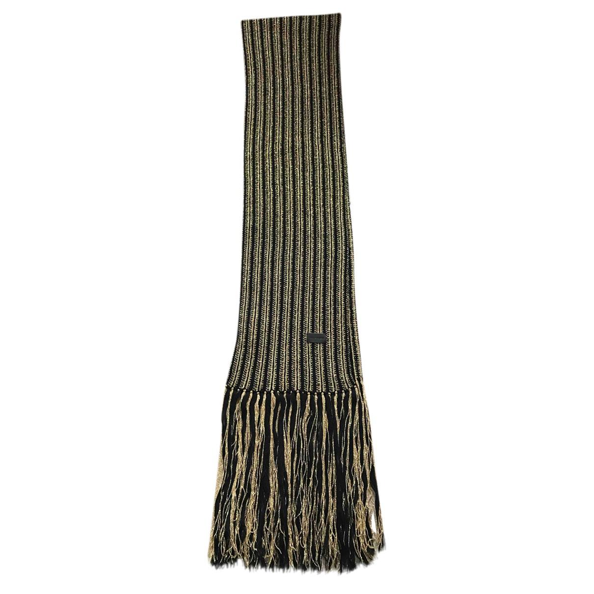 Saint Laurent N Black Wool scarf for Women N