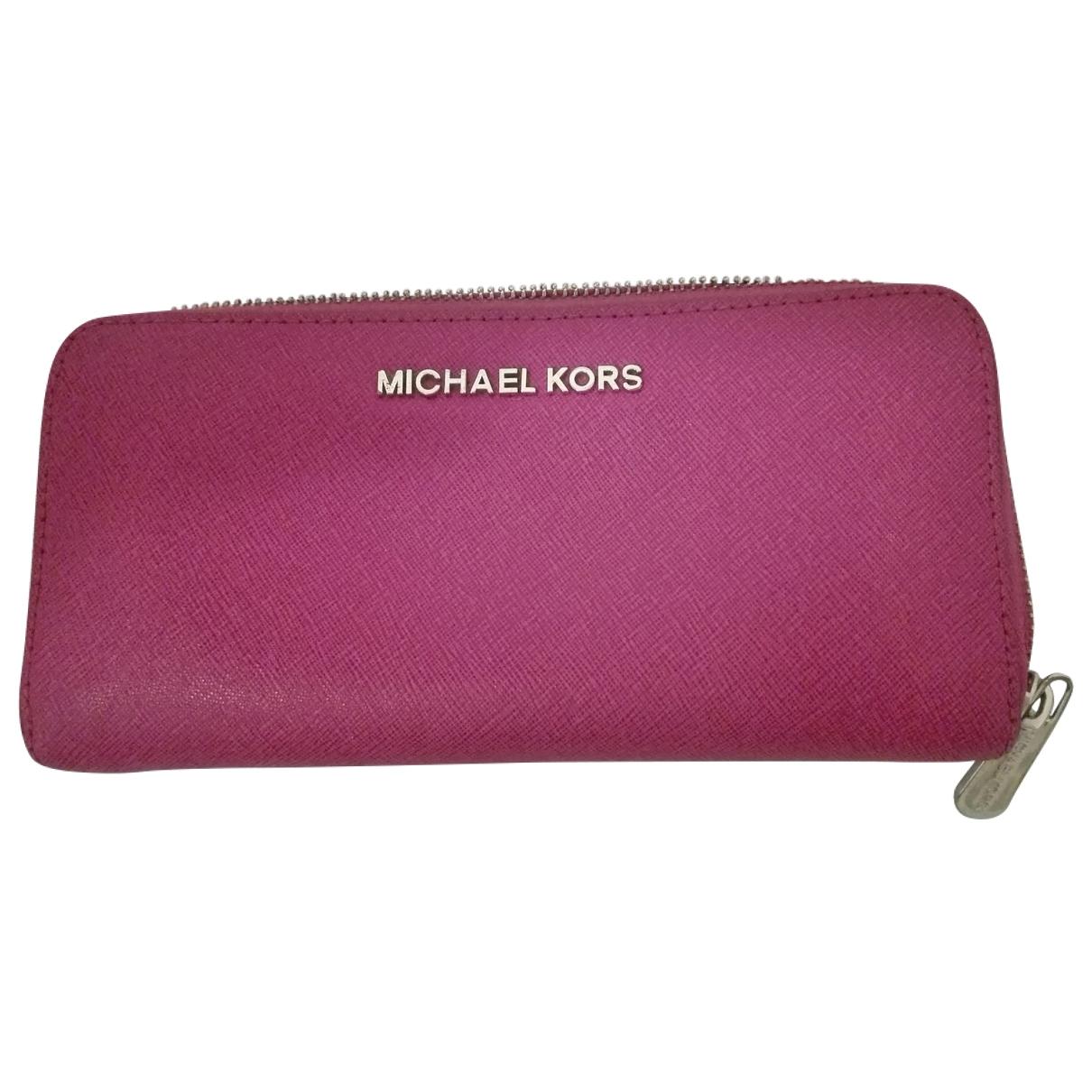 Michael Kors \N Leather wallet for Women \N