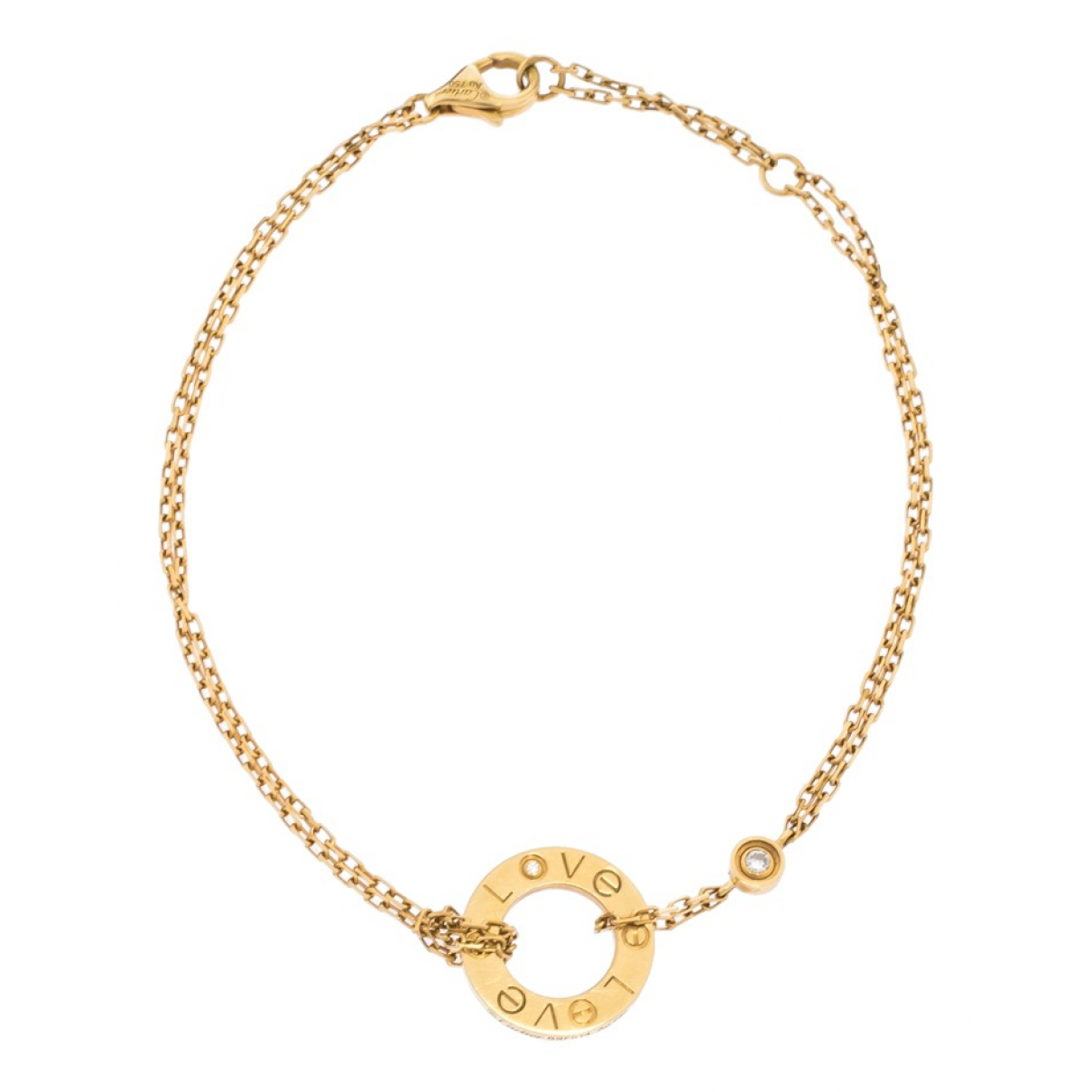 Cartier Love Armband in Gelbgold