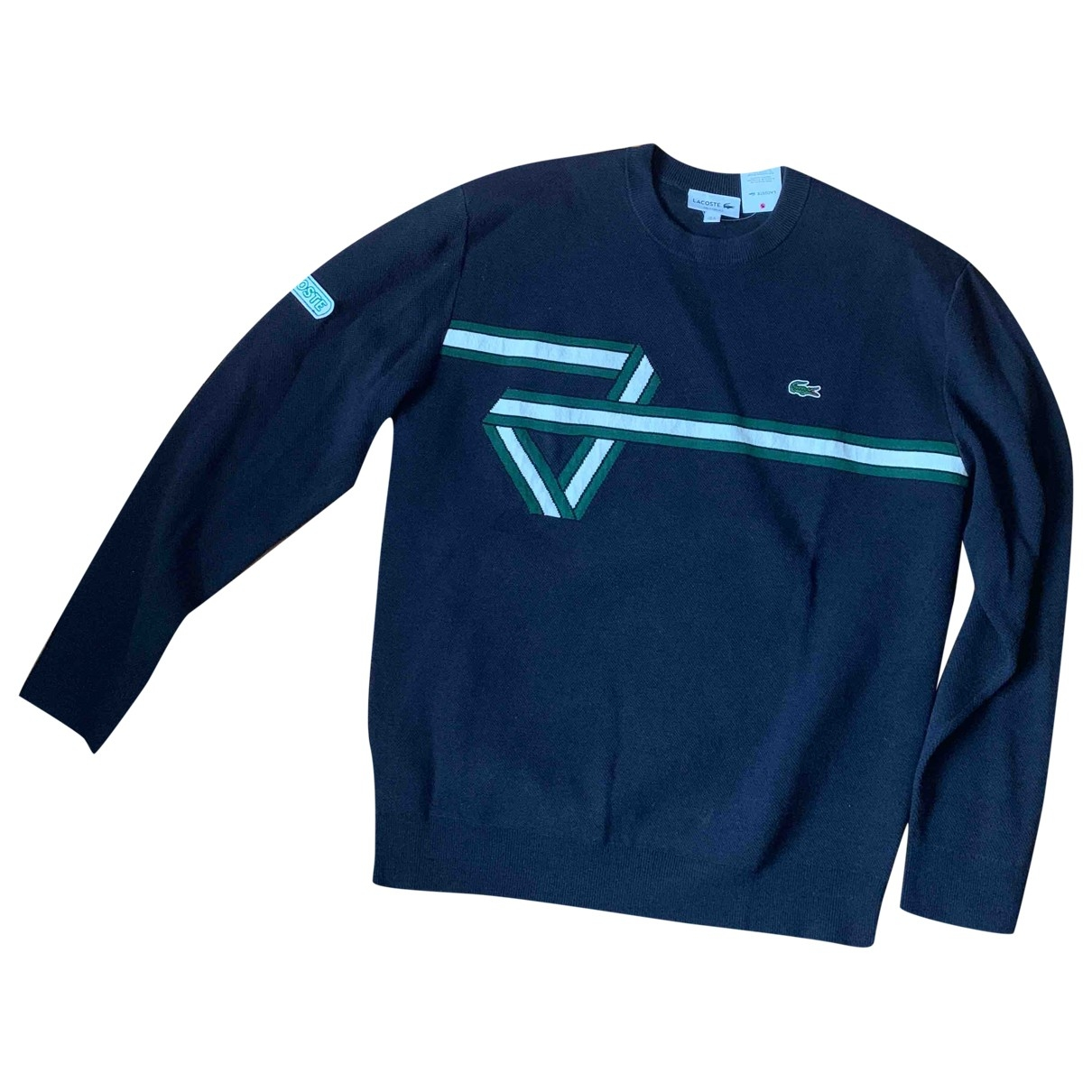 Lacoste \N Blue Cotton Knitwear & Sweatshirts for Men M International