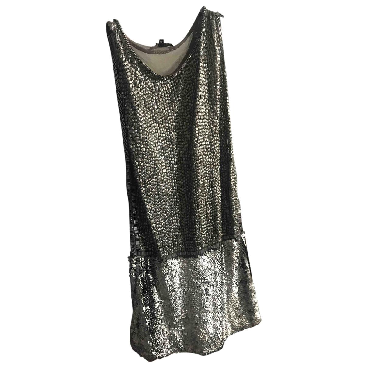 Elisabetta Franchi N Khaki dress for Women 40 IT