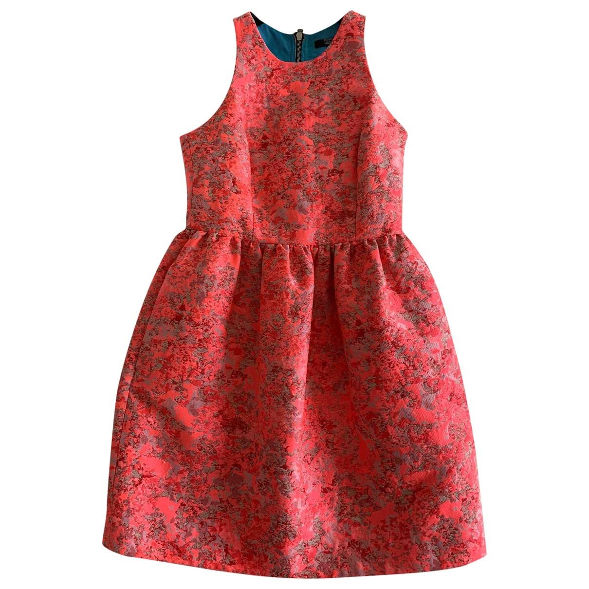 Markus Lupfer \N Kleid in  Rosa Baumwolle