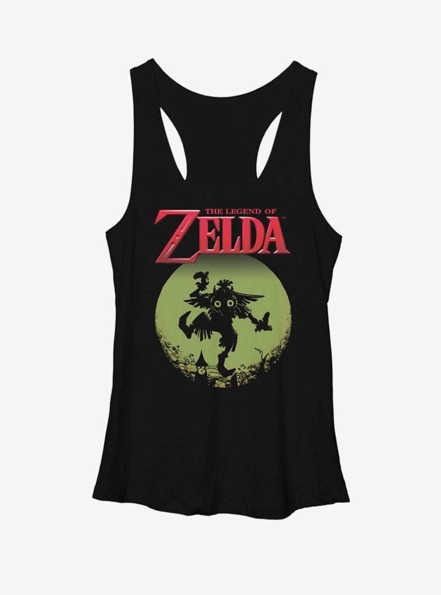 Nintendo Legend of Zelda Skull Kid in the Moon Womens Tank