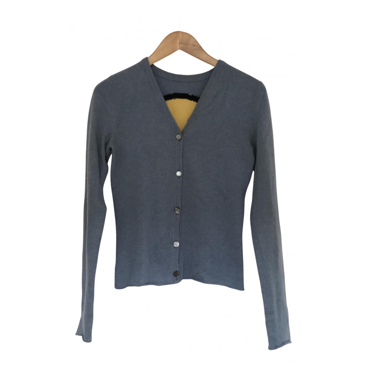 Lucien Pellat Finet \N Pullover in  Blau Kaschmir