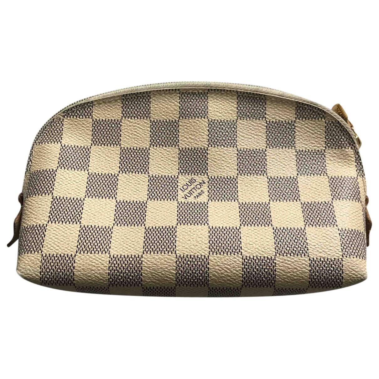 Louis Vuitton - Sac de voyage   pour femme en toile - beige
