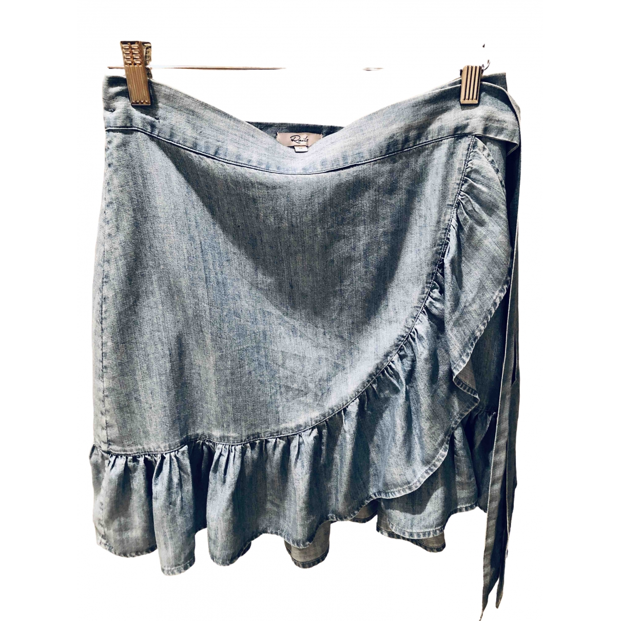 Rails - Jupe   pour femme en coton - bleu