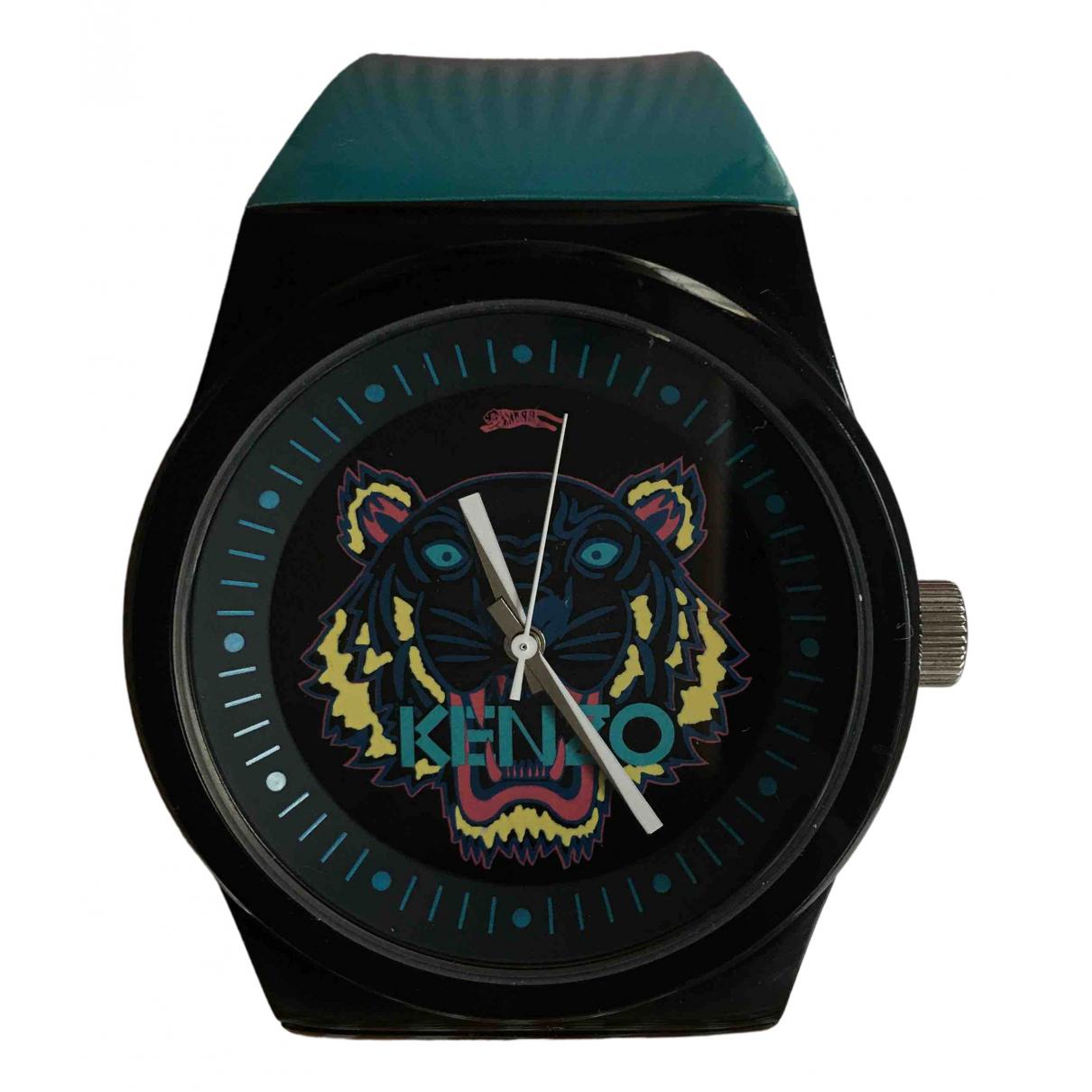 Kenzo \N Uhr in  Schwarz Stahl