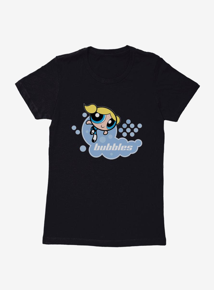 The Powerpuff Girls Bubbles Pose Womens T-Shirt