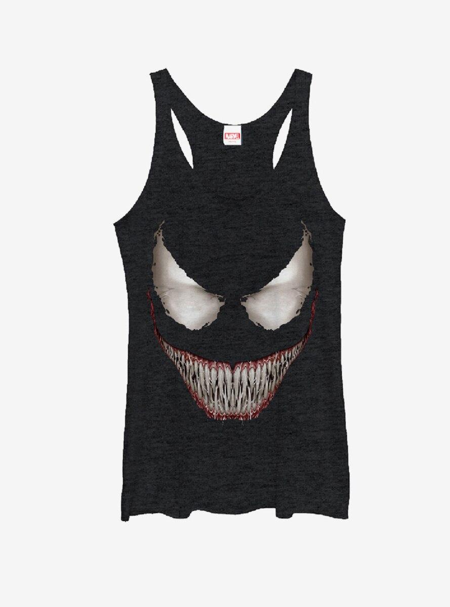 Marvel Venom Grin Womens Tank Top