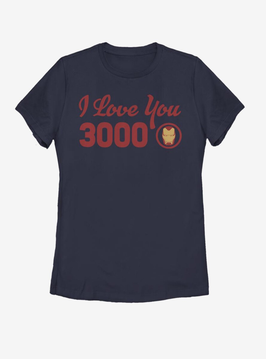Marvel Iron Man Love You Icon Womens T-Shirt