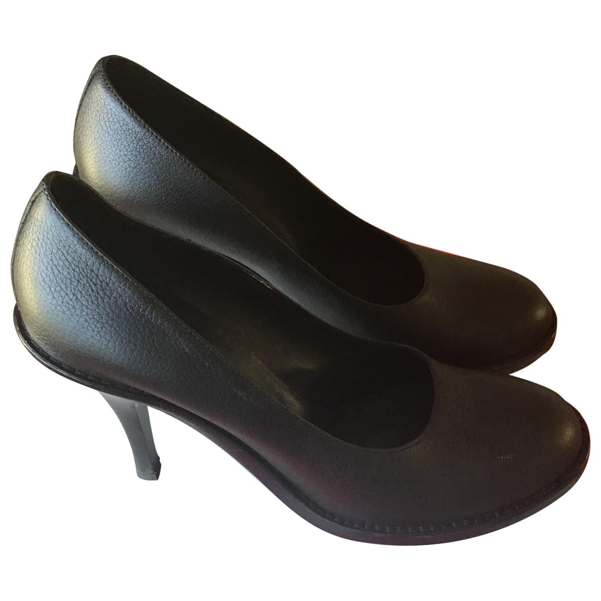 Véronique Branquinho \N Black Leather Heels for Women 40 EU