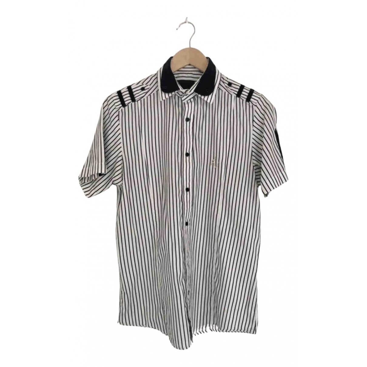 Les Hommes \N White Cotton Shirts for Men M International