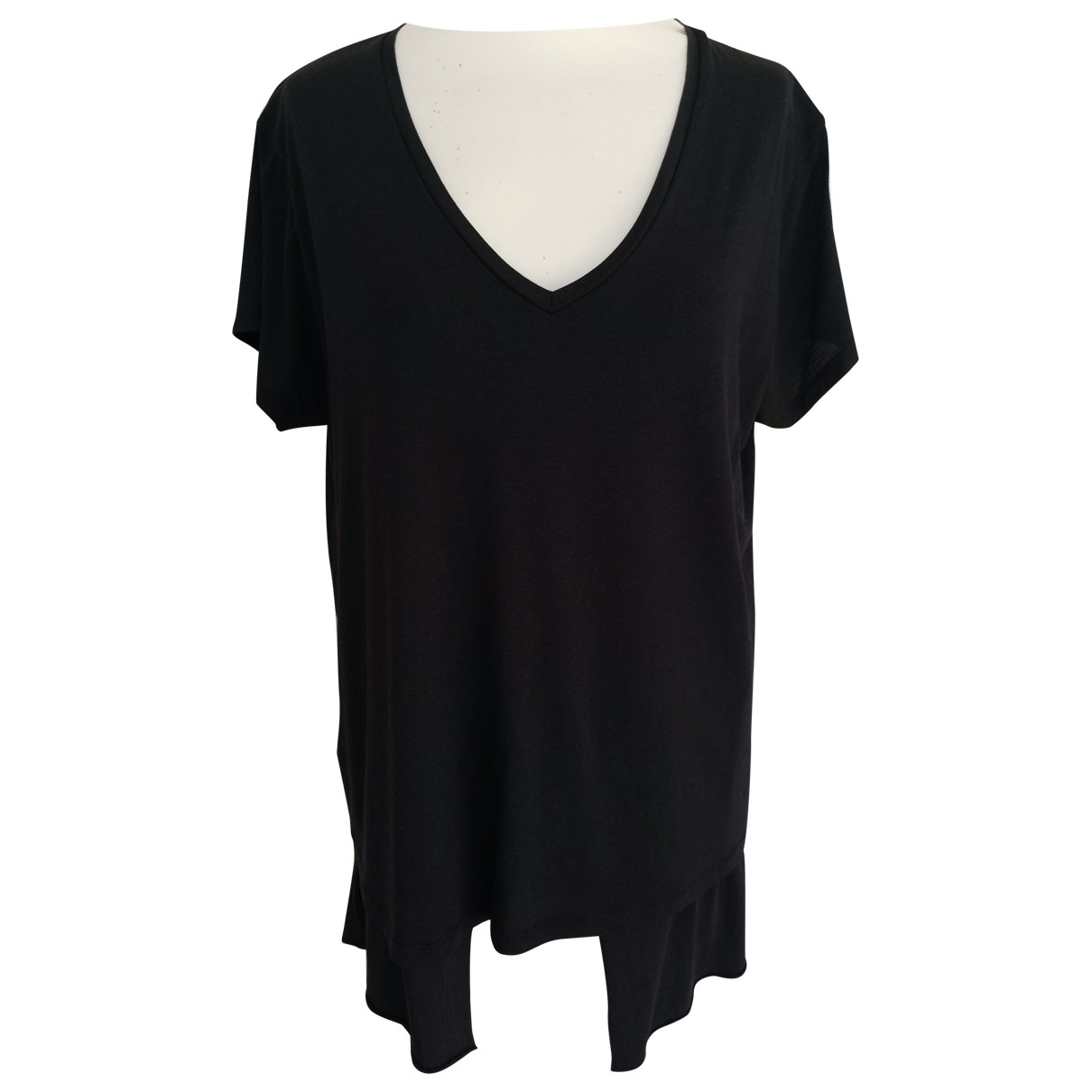Hironae \N Black Cotton  top for Women L International