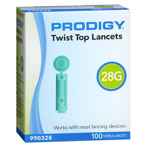 Prodigy Twist Top Lancets 100 Each by Prodigy