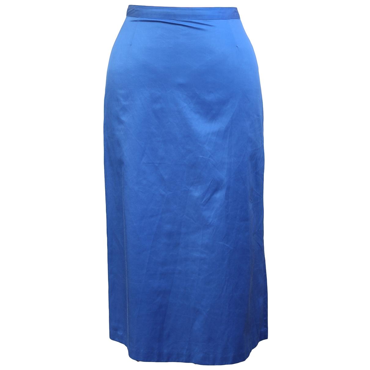 Fendissime - Jupe   pour femme - bleu