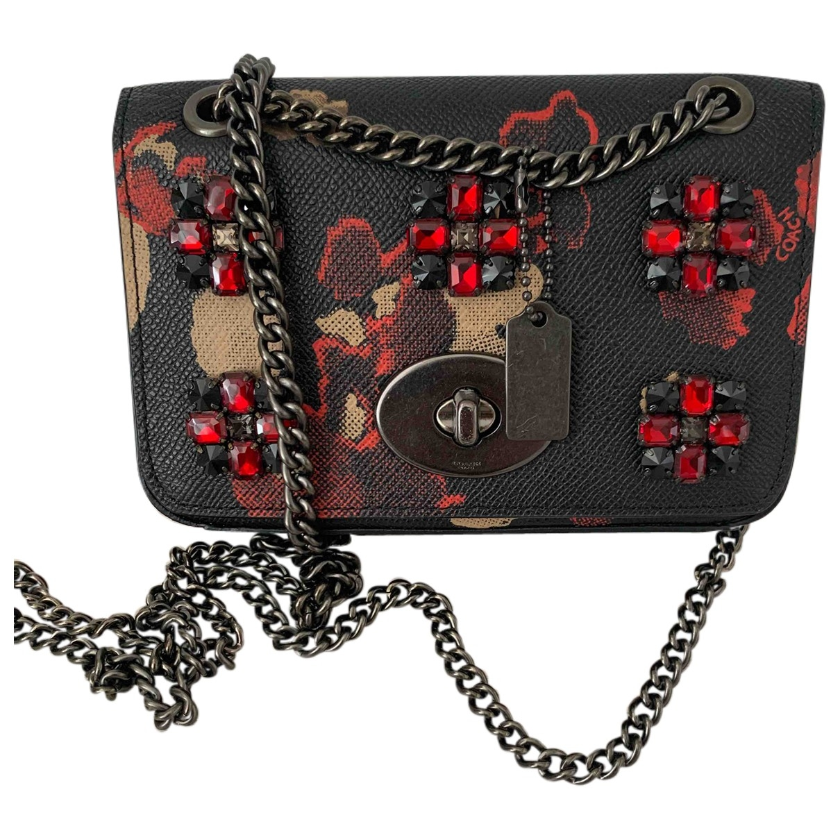 Coach \N Navy Cloth handbag for Women \N