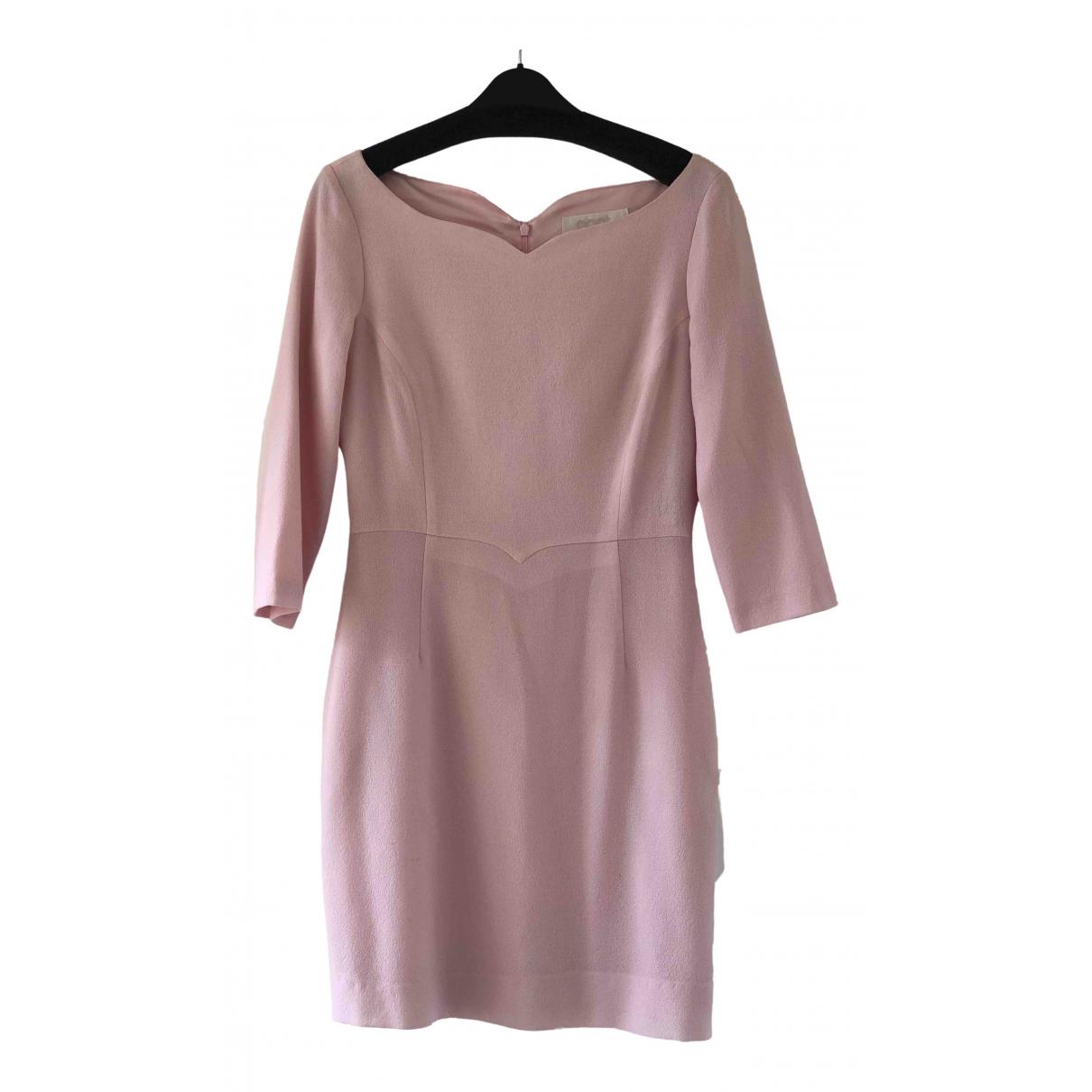 Goat \N Kleid in  Rosa Wolle