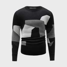 Pullover mit Farbblock