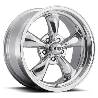 Classic 17x9 5X120.65 0MM 26 Lbs Polished Aluminum Wheels 100 Classic Series REV Wheels 100P-7906100