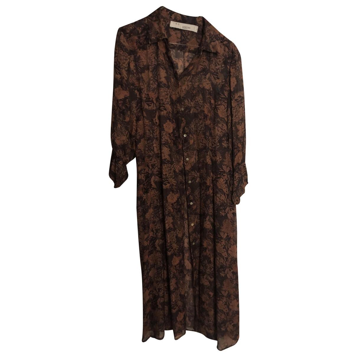 Iro Spring Summer 2019 Brown dress for Women 38 FR