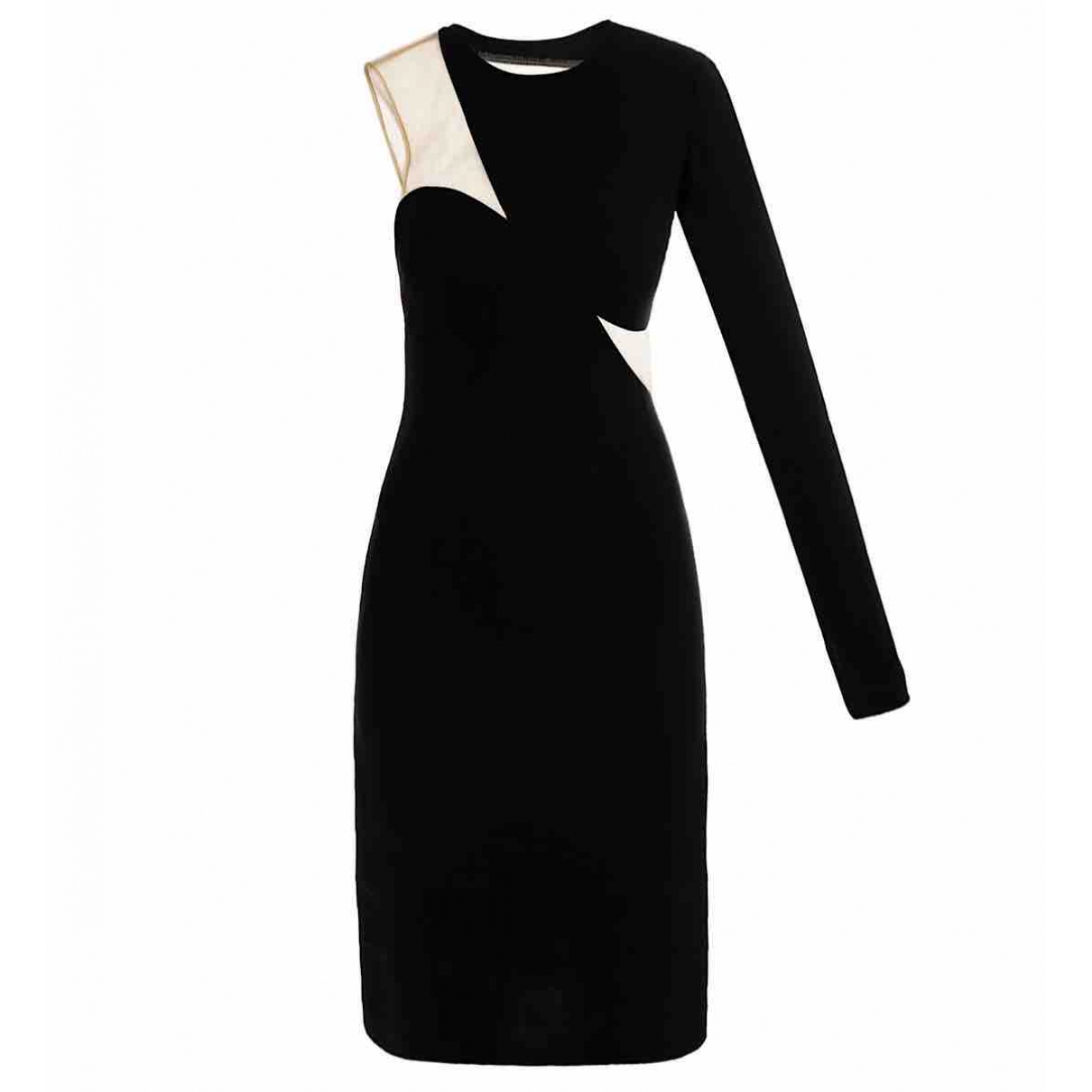 Stella Mccartney \N Kleid in  Schwarz Viskose