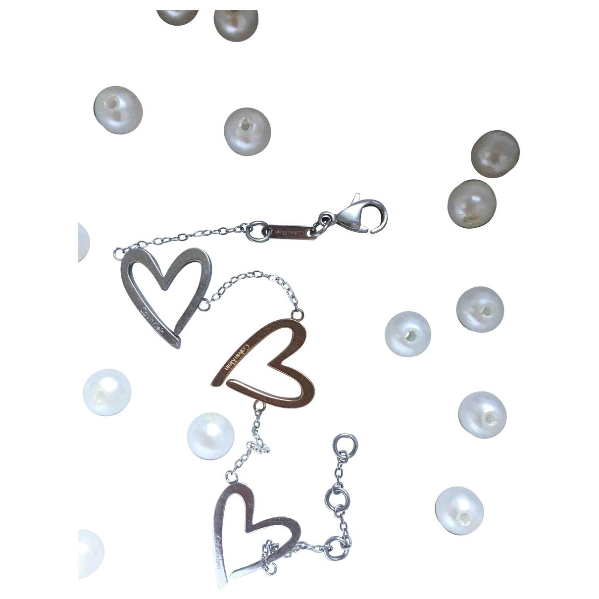 Calvin Klein \N Silver Silver bracelet for Women \N
