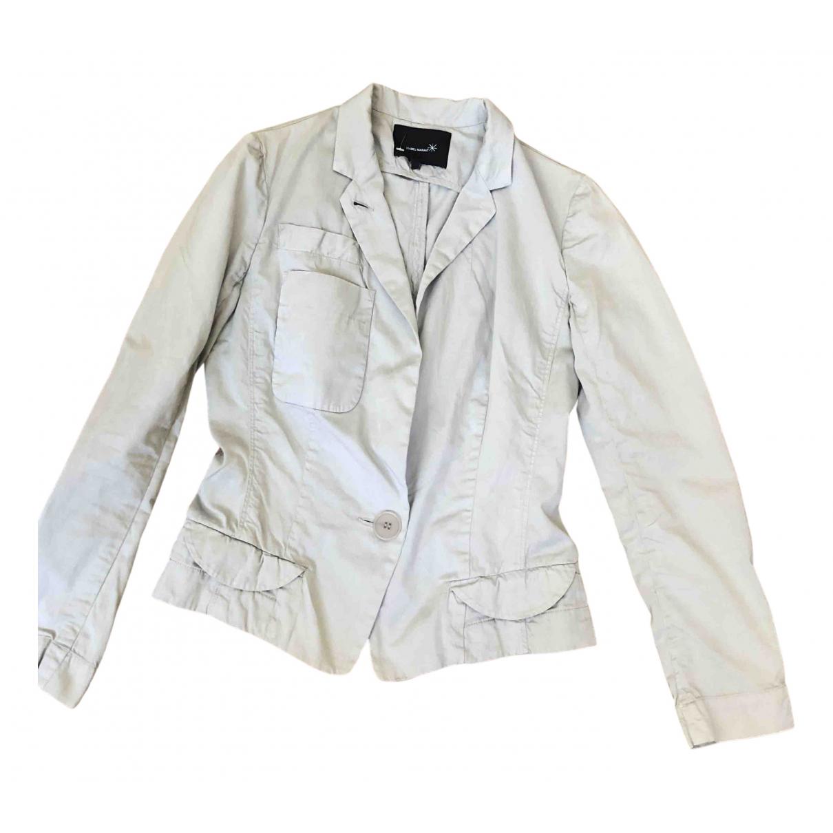 Isabel Marant - Veste   pour femme en coton - gris