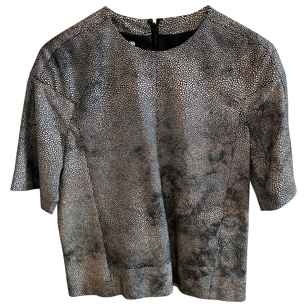 Mm6 \N Multicolour Leather  top for Women 38 IT